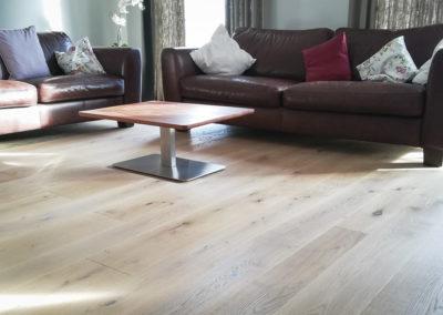 Wohnbeispiel mit Holzboden